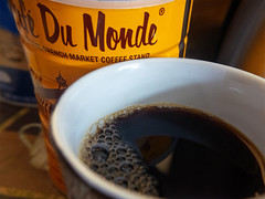 February 3 Coffee Time (Larraine Leslie) Tags: macromondays brew coffee