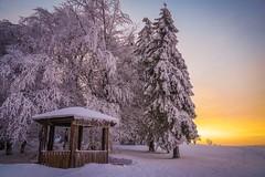 Sonnenaufgang Kieferle (A.K. 90) Tags: cloudssunsetsstormssunrise winter snow schnee cold kalt thüringerwald schiefergebirge nature natur landscape landschaft sonyalpha6300 e18135mm3556oss