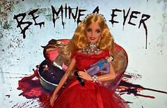 Happy VD Puddin (Pablo Pacheco 85) Tags: harleyquinn barbie mattel dccomics joker valentinesday