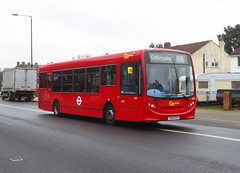 GAL SE57 - YX60DXU - ELTHAM ROAD - SAT 16TH FEB 2019 (Bexleybus) Tags: goahead go ahead london eltham road se9 south east tfl route b16 adl dennis enviro 200 se57 yx60dxu