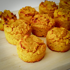 2019.02.08 Low Carbohydrate, Healthy Fat Pumpkin Muffins with Cream Cheese Filling, Washington, DC USA 09747