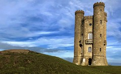 Broadway tower 1/2 (John Glass) Tags: tower cotswolds broadway view