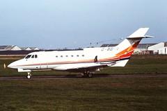G-BGYR HS125 CVT 1991 (cvtperson) Tags: gbgyr hs125600b coventry airport cvt egbe
