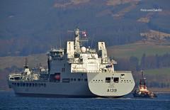 RFA Tideforce (Zak355) Tags: rothesay isleofbute bute scotland scottish naval royalnavy rfatideforce a139 fueltanker shipping ship boat vessel royalfleetauxiliary