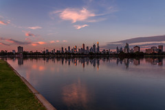Albert Lake (Jared Beaney) Tags: canon canon6d australia australian photography photographer travel victoria melbourne albertpark albertlake reflections reflection cityscapes cityscape city