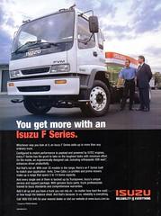 2000 Isuzu F Series Truck Aussie Original Magazine Advertisement (Darren Marlow) Tags: 2 20 00 2000 i isuzu f t truck c cool collectible collectors classic automobile v vehicle j jap japan japanese asian asia 00s