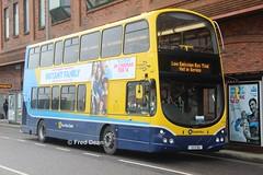 Dublin Bus GT159 (132D11611). (Fred Dean Jnr) Tags: dublinbusyellowbluelivery busathacliath dublinbus lowemissionbustrial volvo b9tl wright eclipse gemini2 gt159 132d11611 cork pboro merchantsquaycork instantfamily