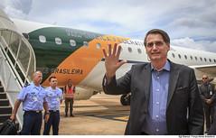 Desembarque do Presidente da República, Jair Bolsonaro, na ALA 1 (Força Aérea Brasileira - Página Oficial) Tags: 2019 ala1 augustosevero brasília fab forcaaereabrasileira forçaaéreabrasileira fotobiancaviol vc2 brazilianairforce desembarque embraer 190 presidente jair bolsonaro