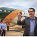 Desembarque do Presidente da República, Jair Bolsonaro, na ALA 1