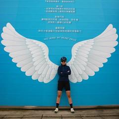 大園復興空廚.Betty @ 翅膀 (nk@flickr) Tags: friend taiwan cycling dayuan betty 台湾 taoyuan 20190301 桃園 台灣 大園 canonefm1545mmf3563isstm