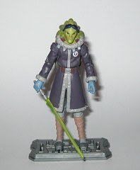 kit fisto cold weather gear cw60 star wars the clone wars blue black cardback basic action figures 2011 hasbro k (tjparkside) Tags: kit fisto cold weather gear cw60 cw 60 star wars clone clones trooper troopers red white card back packaging hasbro basic action figure figures sw tcw lightsaber jedi snow orto plutonia nahdar vebb 2011 goggles display stand base silver ice shoes blue black cardback
