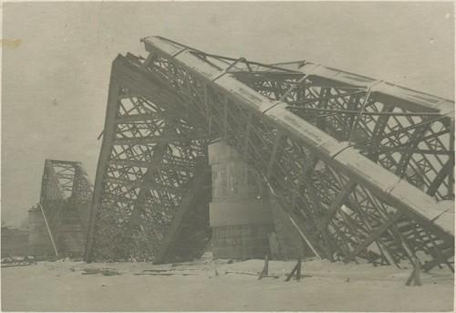 Кременчуг - Железнодорожный мост 1941-1942 003 PAPER2400 [eBay] [Волок А.М.] ©  Alexander Volok