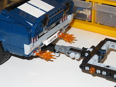 LEGO 10265 Ford Mustang - Flaming Exhausts! (RS 1990) Tags: lego 10265 ford mustang flaming flames exhaust march 2019 oc