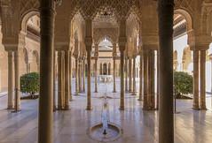 Patio de los Leones (U2iano) Tags: patio leones lyon granada alhambra andalucia españa spain andalusi nazari nazaries palacio palace