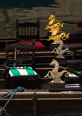 Dragon statues on gondolas, Veneto Region, Venice, Italy (Eric Lafforgue) Tags: animalrepresentation boat canal chinesedragon colourimage cultures day dragon europe goldcoloured gondolatraditionalboat italianculture italy journey leisureactivity mediterraneanculture nauticalvessel nopeople outdoors photography sculpture sea spirituality statue tourism travel traveldestinations unescoworldheritagesite vacations veneto venezia venice veniceitaly venice319 vertical water venetoregion