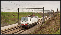 Siemens 193 901 @ Hennuyères (Steven De Haeck) Tags: hennuyères hainaut henegouwen belgië belgique sncb nmbs lijn96 vectron siemens 193901 belgorail atp ects test schaarbeek brainelecomte