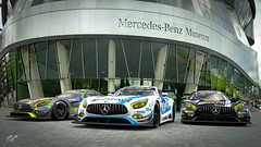 2016 Nürburgring 24h: Mercedes Claims Historic 1-2-3-4 (chumako@bellsouth.net) Tags: scapes winners cars gaming ps4 playstation gtsport gt3 amg mercedes mercedesbenz germany stuttgart
