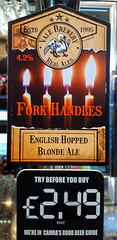Fork Handles at the Four Candles (Ken Barley) Tags: fourcandles oxford forkhandles beer