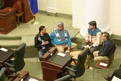 031819LAO_Chamber Unveiling011 (LegAssemblyofAB) Tags: alexjanvier indigenousart art legislativeassemblyofalberta legbuilding legislativeassembly legislature ableg alberta albertaart