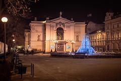 theatre nights (Rafael Zenon Wagner) Tags: nacht night fountain fontäne 40mm city stadt