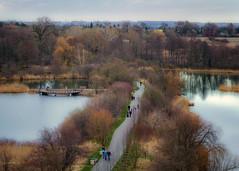 from the tower 2 (KRR_3) Tags: sony a6000 nex selp18105g spring poznan poznań szachty pond lake