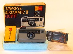 Kodak Hawkeye Instamatic II outfit (with box and manual) (camera.etcetera) Tags: kodak hawkeye camera instamatic 126 usa