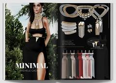 MINIMAL - Michele Gacha (MINIMAL Store) Tags: minimal epiphany michele gacha dress maitreya belleza hourglass jewelry jewellery necklaces earrings set fashion
