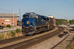 N&W on the 276 (travisnewman100) Tags: norfolk southern train railroad rr freight unit autorack locomotive es44ac es40dc ge gevo 276 8103 heritage nw austell georgia division inman terminal district