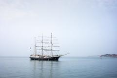 SV Tenacious (ShrubMonkey (Julian Heritage)) Tags: tenacious tallship wooden masts coast coastal nautical sea seaside boat portsmouth portsmouthharbour calm jst jubileesailingtrust svtenacious