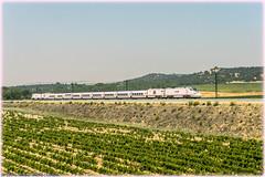 Alvia en Monte la Reina (440_502) Tags: 730 017 grupo renfe operadora alvia híbrido pontevedra monte la reina madrid chamartín lav galicia