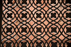 Carved Floral (Pedestrian Photographer) Tags: fatehpur sikri india indian site fort ancient stone carve carving architecture floral pattern patterned