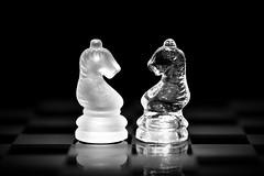 Almas gemelas (Osruha) Tags: alma ànima soul composición composició composition blancoynegro blancinegre blackandwhite bw bn bnw monocromo monocrom monochrome ajedrez escacs chess