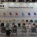 Ausstellung großer Auswahl von Stühlen, Barhockern und Sesseln an Möbelmesse Köln
