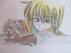Zeno (jasakhan10) Tags: zeno yona dawn yonaofthedawn art drawing anime manga prismacolors