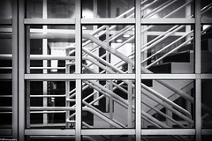 staircase (fhenkemeyer) Tags: bw abstract denhaag architecture staircase
