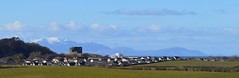 Dundonald Castle and Isle of Arran, Ayrshire, Scotland. (Phineas Redux) Tags: dundonaldcastleayrshirescotland isleofarranscotland scottishlandscapes scottishscenery scottishcastles scottishmountains ayrshirescotland scotland