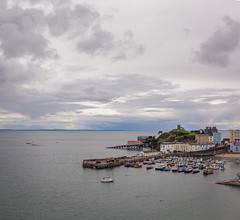 Tenby (PhredKH) Tags: 1635mm buildings coastaltown ef1635mmf4isusm fredkh harbour horizon panorama pembrokeshire photosbyphredkh phredkh splendid tenby wales boats clouds coastalwales outdoorphotography outdoors scenicview sea seafront seascape seaside water wideangle