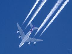 HS-TUB (PM's photography) Tags: spotting aircraft contrail sky aviation avporn avgeek rnav polish canon 7d tamron 150600g2 airline airliner jet plane thai tha tg tha931 tg391 airbus a380 a388 hstub superjumbo