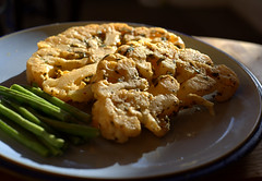Cauliflower Steaks (Tony Worrall) Tags: add tag ©2019tonyworrall images photos photograff things uk england food foodie grub eat eaten taste tasty cook cooked iatethis foodporn foodpictures picturesoffood dish dishes menu plate plated made ingrediants nice flavour foodophile x yummy make tasted meal nutritional freshtaste foodstuff cuisine nourishment nutriments provisions ration refreshment store sustenance fare foodstuffs meals snacks bites chow cookery diet eatable fodder ilobsterit instagram forsale sell buy cost stock cauliflower steaks veg vegan