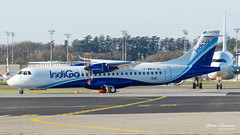ATR 72-600 IndiGo F-WWEB msn 1545 (Mav'31) Tags: lfbo tls toulouse blagnac airport airplane plane aircraft runway lineup spotter avgeek nikon sigmad7200 120400 mav31 jérômevinçonneau