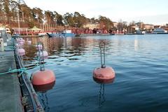 Västerhamn (evisdotter) Tags: winter reflections landscape jetty buoy åss västerhamn mariehamn buoyant