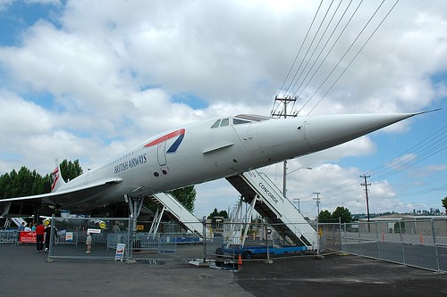 Concorde - The Museum of Flight Seattle WA