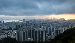 Fei Ngo Shan (jerrytangsk) Tags: architecture building china city cityscape cloud downtown high hong island kong kowloon landscape modern peak sea sky skyline sunset tourism travel urban victoria view