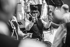 Black Thorne Pipe Band (danperezfilms) Tags: bw absoluteblackandwhite street music people blackandwhite streetphotography bagpipes irish stpatricksday coralsprings florida pentax pentaxk1