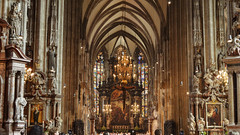 St. Stephen's Cathedral, Vienna, Austria [1622] (my.travels) Tags: interior cathedral vienna austria service nikon d3200 travel decoration architecture building history historic christianity europe europa at