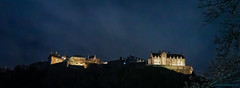 Edinburgh Castle at night (Rourkeor) Tags: 35mm 35mmsonnartlens edinburgh edinburghcastle rx1r sony ancient fullframe historic lightshadows nighttime