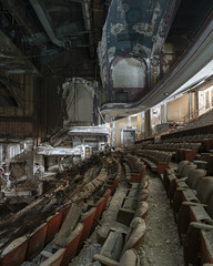 ProctorsLeftSide (www.vanishingnewengland.com) Tags: theater theatre abandoned decay architecture urbex explore nj new jersey travel