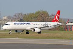 Airbus A321-231(WL) - TC-JTF - HAJ - 02.04.2019 (Matthias Schichta) Tags: haj hannoverlangenhagen eddv flugzeugbilder planespotting tcjtf turkishairlines airbus a321200