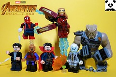 The Time Stone [Infinity War - #03] (HaphazardPanda) Tags: lego figs fig figures figure minifigs minifig minifigures minifigure purist purists character characters comics comic book books story group super hero heroes superhero superheroes marvel mcu avengers infinity war endgame captain america iron man spiderman machine falcon vision scarlet witch white wolf winter soldier okeye black panther shuri nomad widow thor bruce banner hulk groot guardians galaxy rocket raccoon gamora nebula doctor strange starlord quill drax mantis wong gauntlet stones thanos children