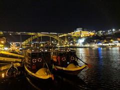 douro crossing boats (xd_travel) Tags: porto portugal oporto travel newyear2019 douro 2deckbridge domluis1bridge serradopilar riodouro ribeira bairrodaribeira landmark doubledeckbridge nightscape